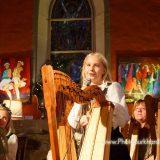 Liane Kranz beim Adventskonzert der Harfenklasse vom Klanghaus