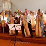 Benefizkonzert mit der Mündener Harfenklasse