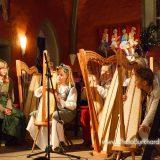 Adventsmusik der Harfenklasse in Hann.Münden