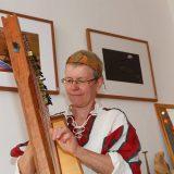 So klangvoll ist die große Böhmische Harfe