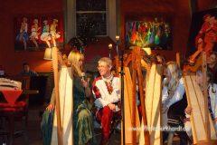 Beim Adventskonzert der Harfenklasse vom Klanghaus in der Ägidiuskirche