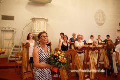 Nach dem Harfenkonzert fürs Hospiz